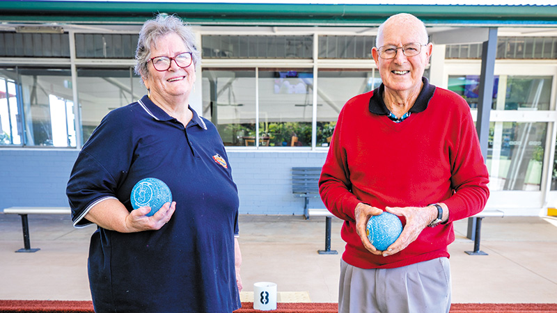 Volunteers Get Bowls Rolling for Young and Old