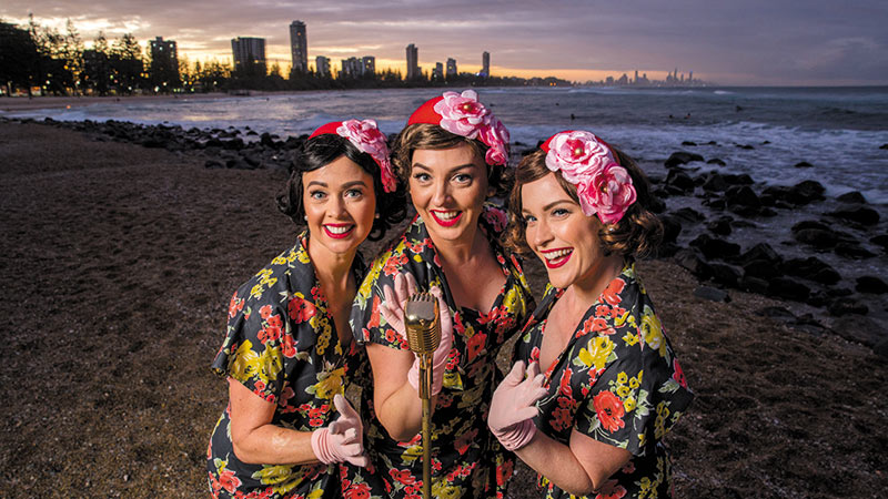 Sing & Swing The Pacific Belles
